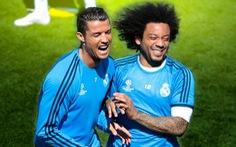 Clip về hình ảnh hài hước của đôi bạn thân Cristiano Ronaldo và Marcelo