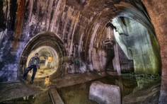 Kinh ngạc trước hệ thống đường hầm quân sự của phát xít Đức