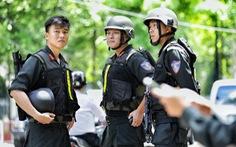An ninh dày đặc trong buổi tuyên án nhóm khủng bố sân bay Tân Sơn Nhất