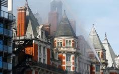 Cháy khách sạn ở London, hơn 100 lính cứu hỏa tham gia dập lửa