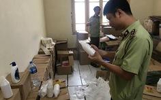 Cả kho mỹ phẩm giả tại trụ sở cũ của Thanh tra Chính phủ