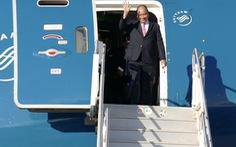 Thủ tướng Nguyễn Xuân Phúc đến Canada