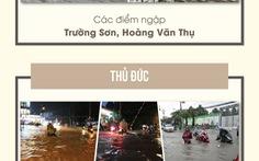 Định vị các cung đường hay ngập ở Sài Gòn