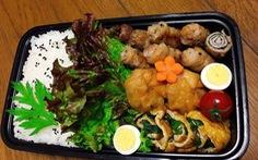 Hộp cơm đẹp như ngoài tiệm của nữ du học sinh Nhật Bản