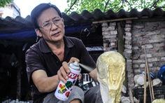 Độc đáo cúp vàng World Cup 'made in Việt Nam'