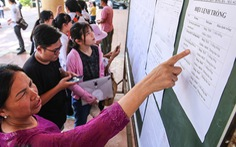 Các trường không được 'làm khó' học sinh rút hồ sơ nhập học lớp 10