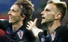 Modric và Rakitic - 'quái vật hai đầu' nguy hiểm của Croatia