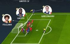 Đồ họa video: Cú đánh đầu của Umtiti đưa Pháp vào chung kết