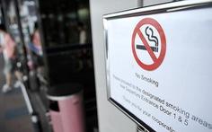 Singapore lắp hàng trăm camera nhiệt để ngăn hành vi hút thuốc lá
