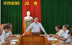 Chuẩn bị đưa những người gây rối ở Bình Thuận ra xét xử