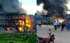 Nổ nhà máy hóa chất Trung Quốc, 19 người thiệt mạng
