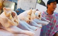 Thịt gà thải loại dai ngon nhưng liệu có an toàn?