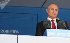 Tổng thống Putin gửi thông điệp 'biết ơn' trước khi World Cup khép lại
