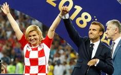 Một mùa World Cup quá đỉnh của 'bà trùm sân cỏ' - nữ Tổng thống Croatia