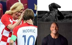 16-7: Bức ảnh Tổng thống Croatia lau nước mắt cho Modric gây xúc động mạnh