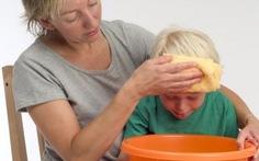 Nhận biết một số bệnh gây nôn ở trẻ em