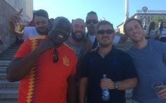 Cựu binh 48 tuổi và hành trình đi bộ 5 tháng tới Nga xem World Cup