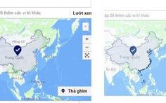 Facebook bỏ Trường Sa, Hoàng Sa ra khỏi lãnh thổ Trung Quốc
