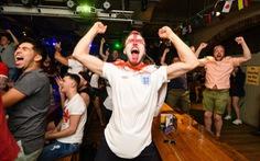 Hàng triệu người Anh say xỉn, bỏ làm vì ăn mừng World Cup thâu đêm