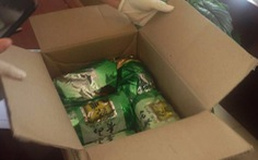 Bắt đôi nam nữ vận chuyển 5kg ma túy ngụy trang 'chè khô'