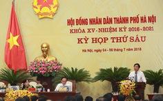 HĐND Hà Nội lo cháy máy vì nhiều đại biểu bấm nút chất vấn
