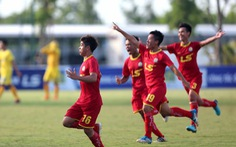 Đánh bại SLNA, Viettel vô địch giải U-17 quốc gia 2018
