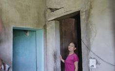 Nổ mìn thi công kênh làm nứt nhà dân, gần 1 năm chưa đền bù