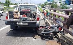 Tông 3 mẹ con thương vong, tài xế xe tải bỏ chạy