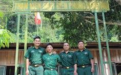 Lính biên phòng ở Kẻng Mỏ