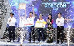 Việt Nam sẽ vô địch ở ABU Robocon 2018?
