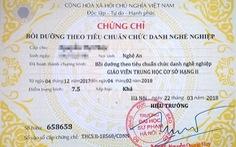 Trường cao đẳng 'chui' giả chữ ký để cấp chứng chỉ