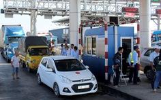 Điều cảnh sát giao thông ứng trực ở trạm BOT Ninh Lộc dịp 2-9