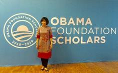 'Anh hùng khí hậu' Việt Nam nhận học bổng của Quỹ Obama