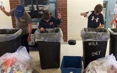 Bao giờ công sở phân loại rác?