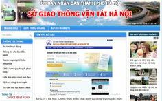 Hà Nội bắt đầu cấp bằng lái xe quốc tế qua mạng