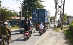Đường hẹp, xe đông - tai nạn liên tục
