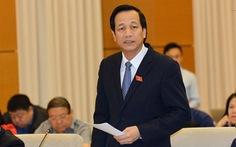 Bộ trưởng Đào Ngọc Dung nhận 50 đơn thư mỗi ngày