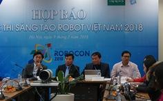 Robocon 2018: robot tranh tài ném còn