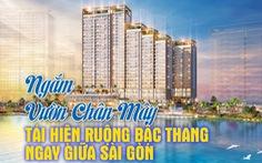 Ngắm vườn chân mây tái hiện ruộng bậc thang giữa Sài Gòn