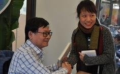 Nhà văn Nguyễn Nhật Ánh: 'Viết sách là lúc tôi thấy mình đang sống'