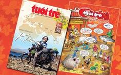 Báo Xuân Tuổi Trẻ và Tuổi Trẻ Cười: mua ngay kẻo lỡ