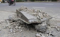 Vì sao 'đường APEC' mới dùng vài tháng đã hỏng?