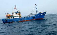 Cứu tàu cá vỏ thép và 9 ngư dân gặp sự cố ngoài khơi Côn Đảo