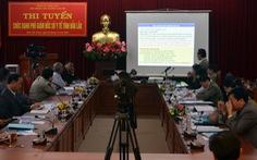 Đắk Lắk có phó giám đốc sở Y tế đầu tiên qua thi tuyển