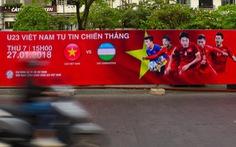 Cả Sài Gòn rạo rực đợi chung kết U23