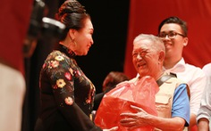 Nghệ sĩ Kim Cương, Thành Lộc, Hữu Châu... chúc tết sớm