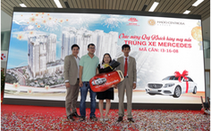 HaDo Centrosa Garden: Đã tìm ra 2 khách hàng may mắn trúng xe Mercedes