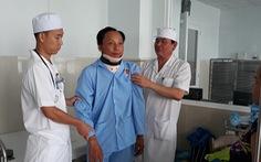 Cứu bệnh nhân bị liệt do té xe gãy cổ