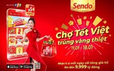 Nhộn nhịp phiên chợ Tết online Sendo