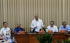 Thủ tướng làm việc với TP.HCM: 'Rà soát nhà đất công'